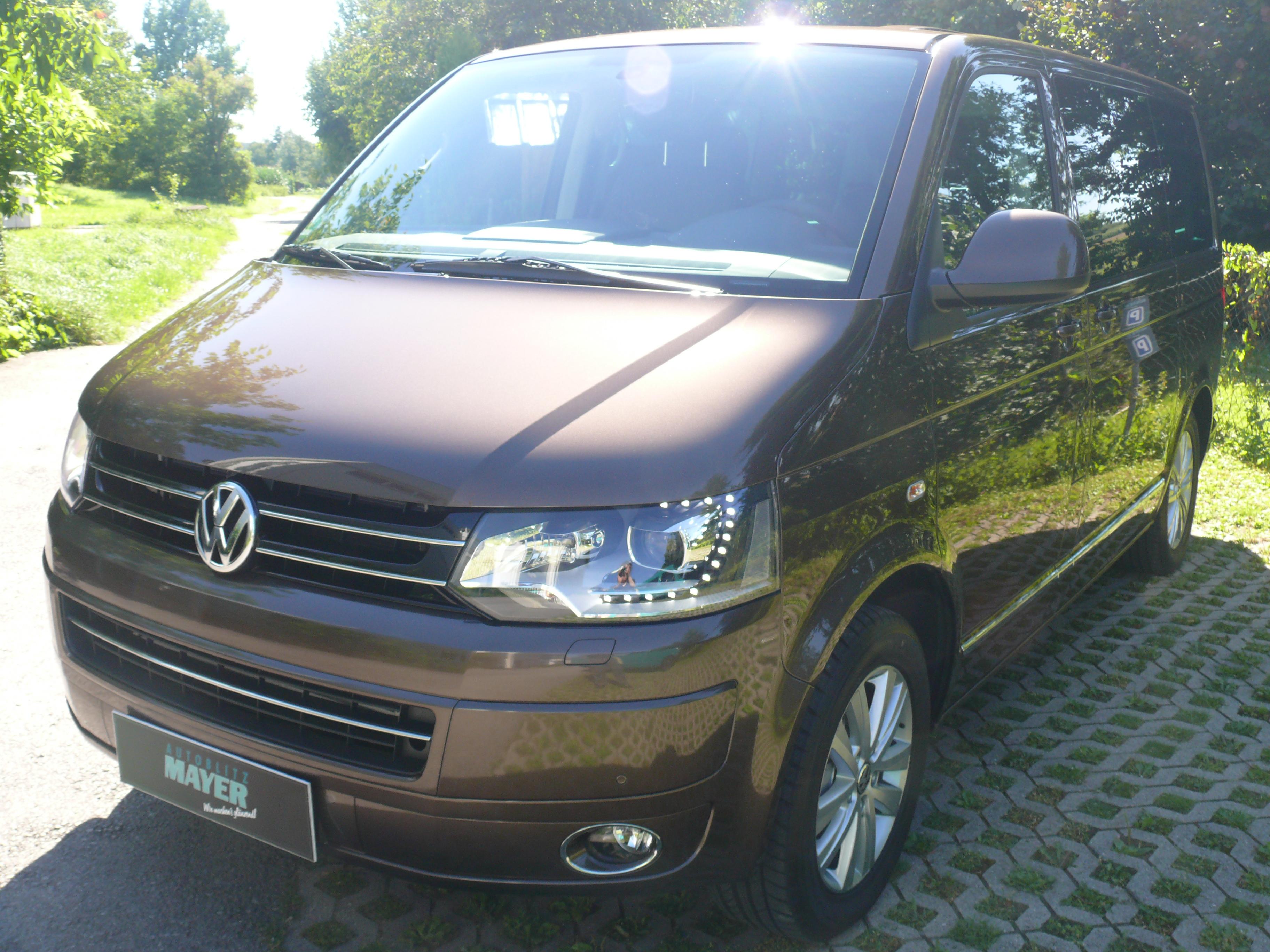 🚗 Steinschlagfolie auf einem VW Bus T5 — Autoblitz Mayer