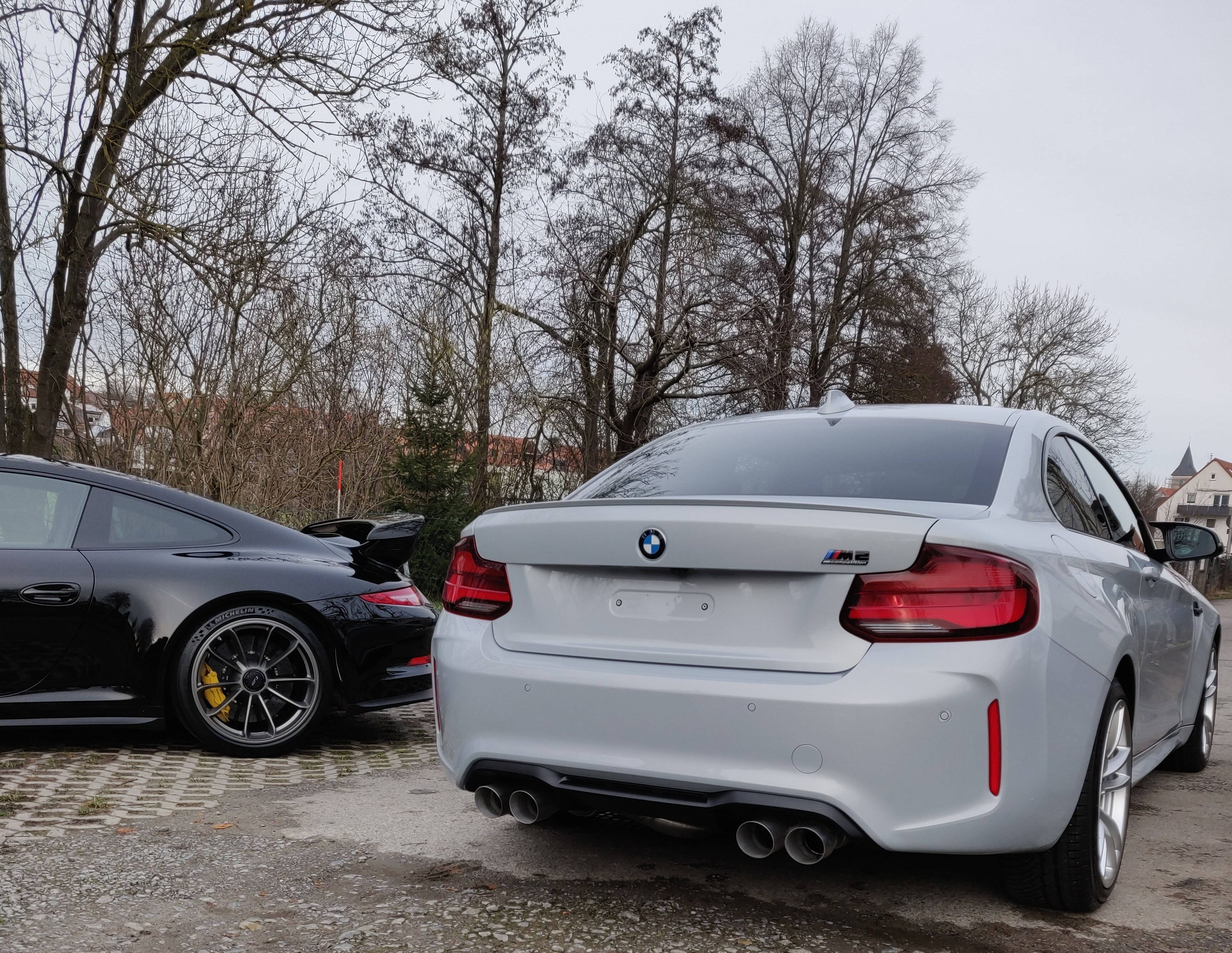 BMW M2c Lackschutzfolie Keramikversiegelung