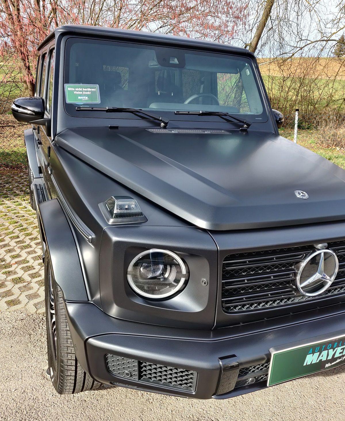 Mercedes G500 Lackschutz matt