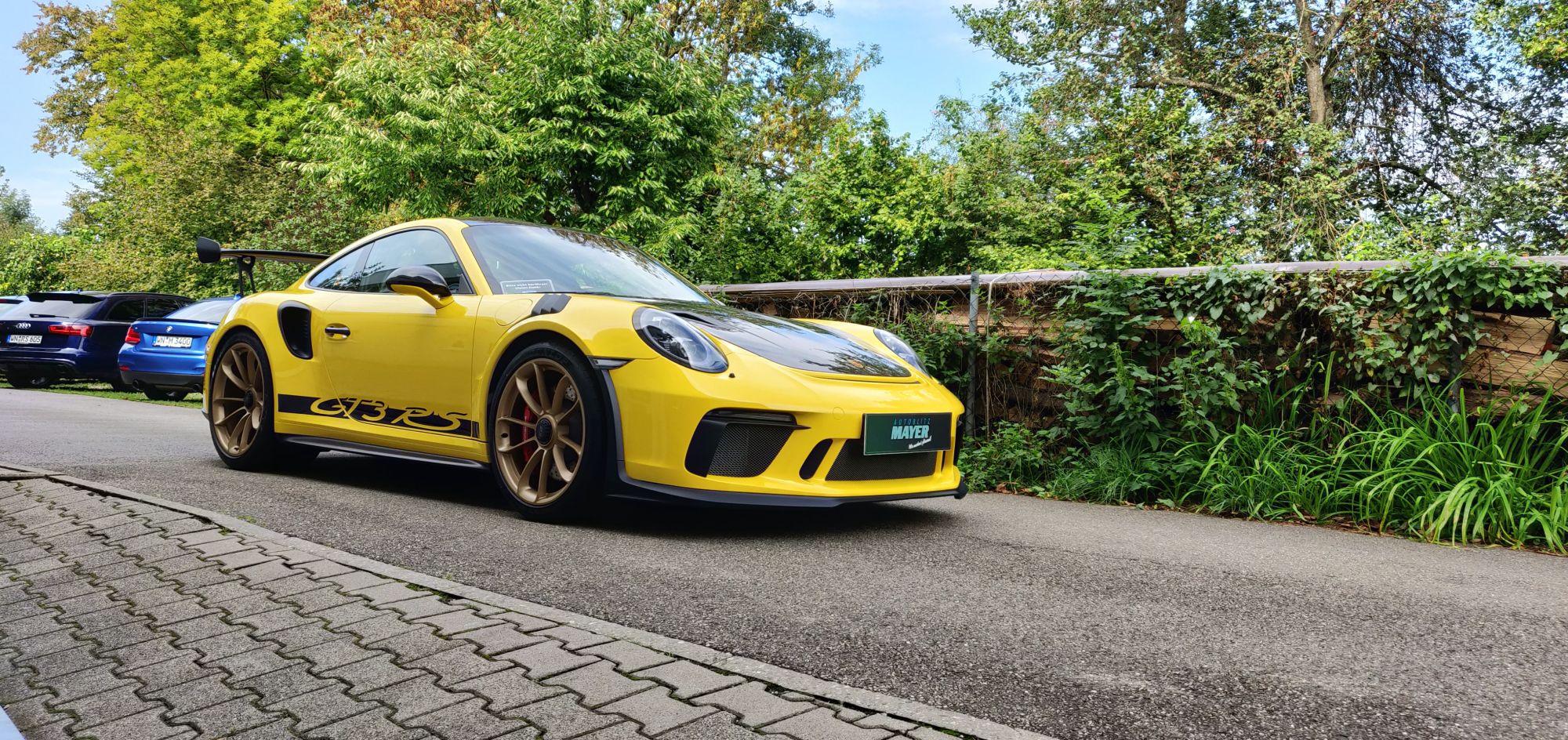Porsche GT3RS Lackschutzfolie & Versiegelung