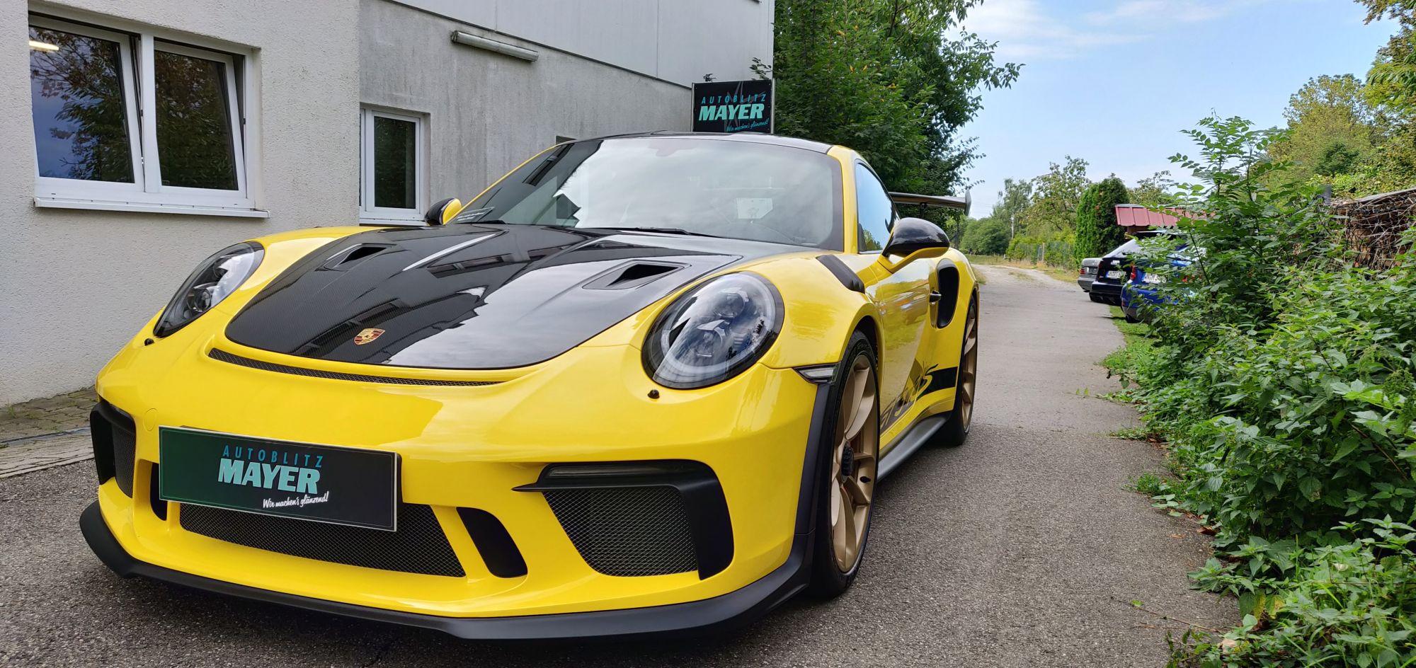 Porsche GT3 RS Lackschutzfolie