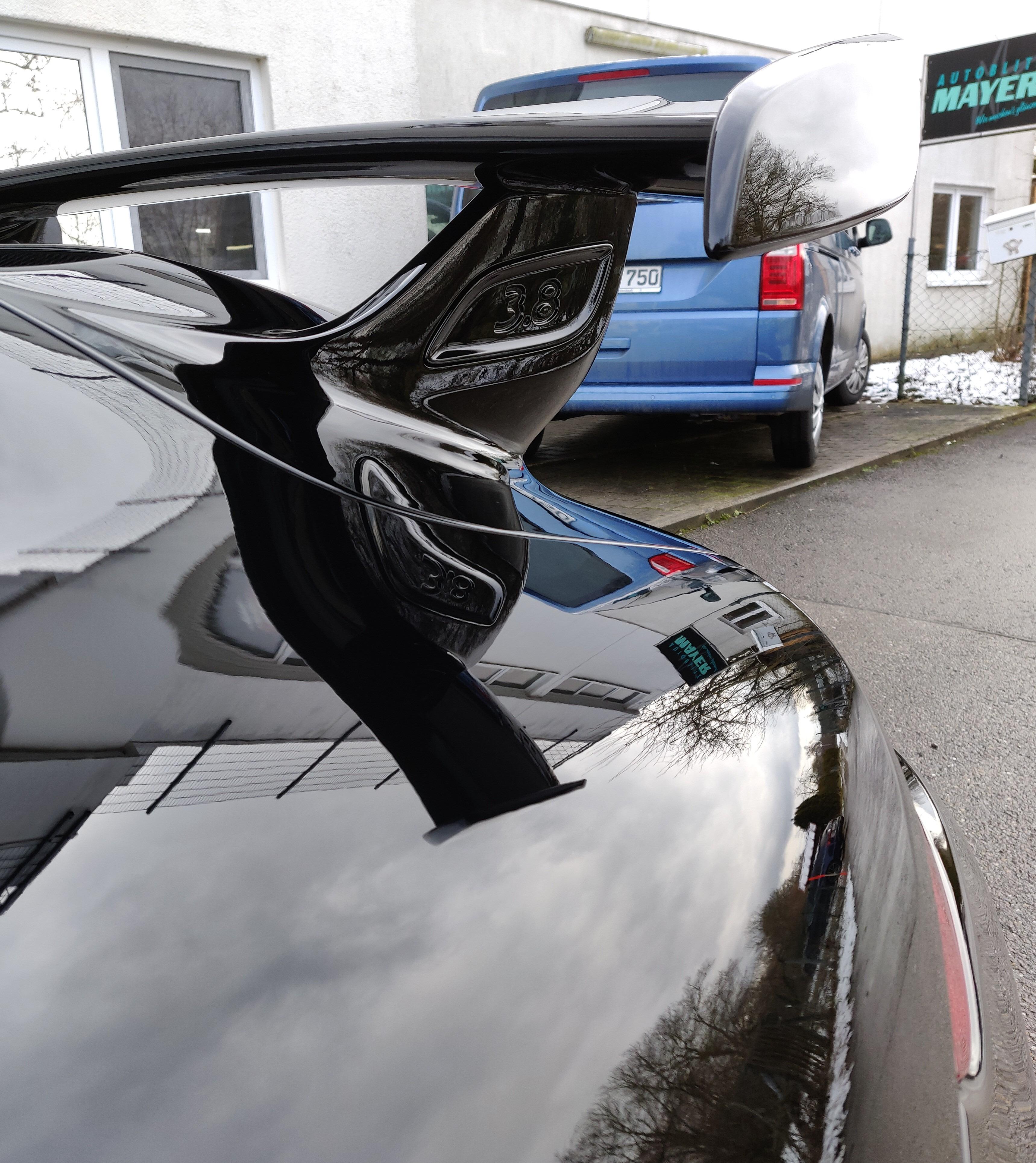 Porsche GT3 Unischwarz Lackschutzfolie