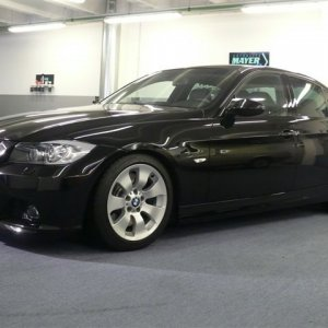 BMW e90 335i extreme Kratzer