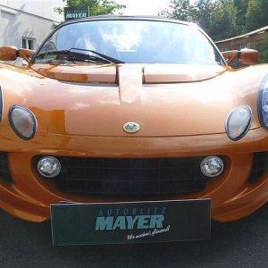 Lotus Elise Supercharge - Versiegelung