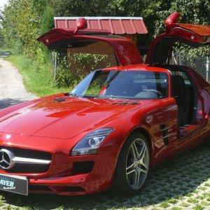 Mercedes - AMG SLS Lackschutz