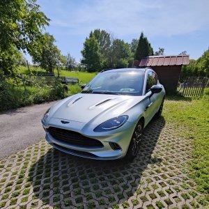 Aston Martin DBX Matte-Lackschutzfolie