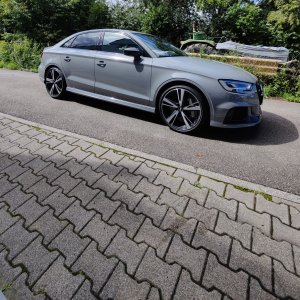 Audi RS3 Limousine Keramikversiegelung