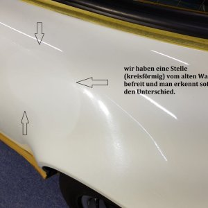 Porsche 911er Autowachs Probleme