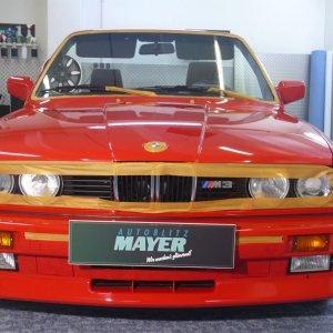 Seltener BMW M3 E30 Cabrio - Aufbereitung