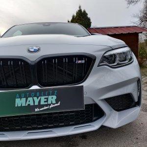 BMW M2c Steinschlagschutzfolie