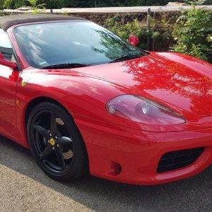 Ferrari 360 Spider - klebrige Kunststoffteile & Detailing