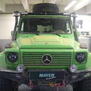 Wüstentrip mit Mercedes G Modell - Detailing