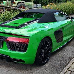 Lackschutzfolie - Green Audi R8 V10 SPYDER