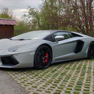 Lamborghini Aventador - Lederreparatur