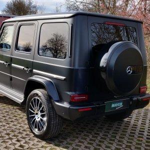 Mercedes Benz G500 Lackschutz