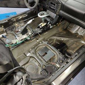 Projekt Porsche Boxter S - Detailing