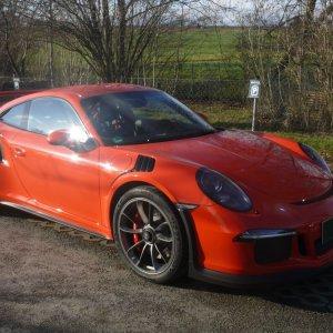 Porsche 991 GT3 RS Lackschutzfolie & Versiegelung