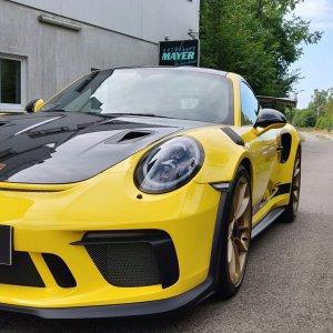 Porsche GT3 RS Weissach - Keramikversiegelung & Lackschutzfolie